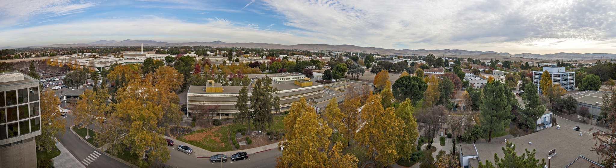 Aerial view of LLNL