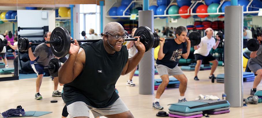 body pump exercise class