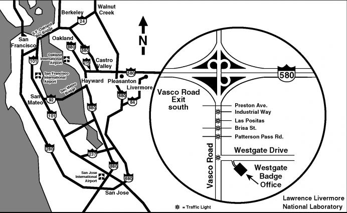 map llnl west gate badge office