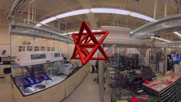 360 video tour of 3D printing labs at LLNL