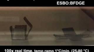 '4d printing' a box with origami folding
